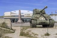 American M4 Sherman tank in f...