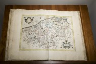 1585 atlas Galliae Tabule Geo...