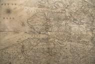 1831 map Carte des Fronti�res...