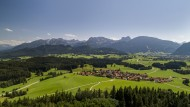 View of the town Zell im Allg...