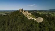 Castle ruin Eisenberg in the ...