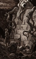 The Gnarled Monster, by Gusta...