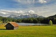 View of the Karwendelgebierge...
