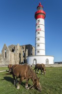 The Pointe Saint Mathieu with...