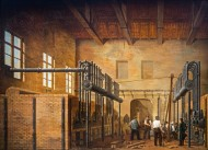 19th century painting showing...