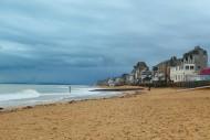 The beach at Saint-Aubin-sur-...