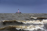 Lighthouse Westerheversand at...