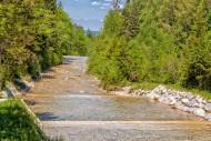 Watercourse in the Jenbach pa...