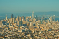 Aerial view of San Francisco ...