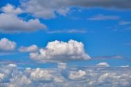 Cumulus clouds, Bavaria, Germ...