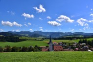 View of Stiefenhofen in Westa...