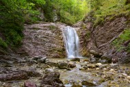Waterfall in the Schleifm�hle...