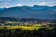 View from Sch�nberg towards P...