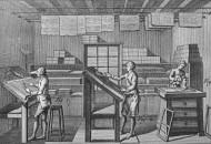 18th century typesetters arra...
