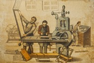 19th century typesetter and p...