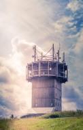 Radio tower on the Schneekopf...