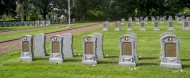 WWI graves / tombstones at th...