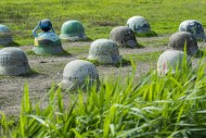 44 Helmets monument symbolisi...