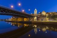 Burgtorbr�cke, bridge over th...